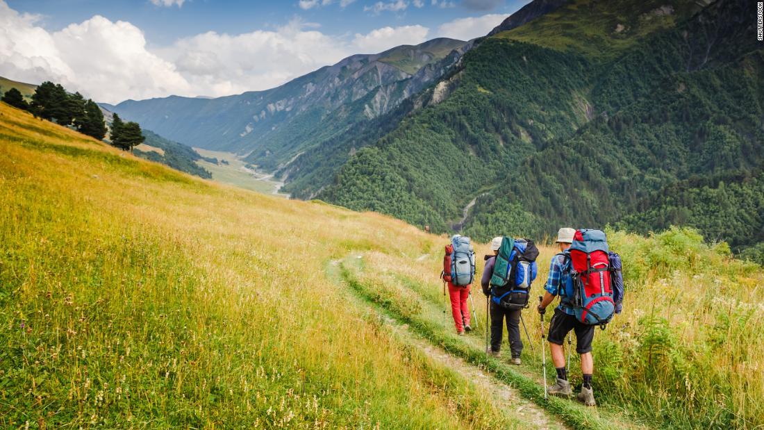 Wie schützen Sie sich auf Wanderwege