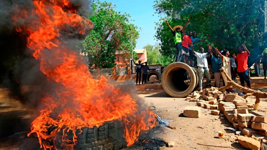 Flipboard: Sudan protests turn violent as gunmen open fire ...