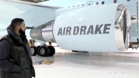 See Drake's new $220+ million private jet
