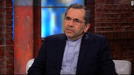 Iranian ambassador to UN accuses the US of 'psychological warfare'