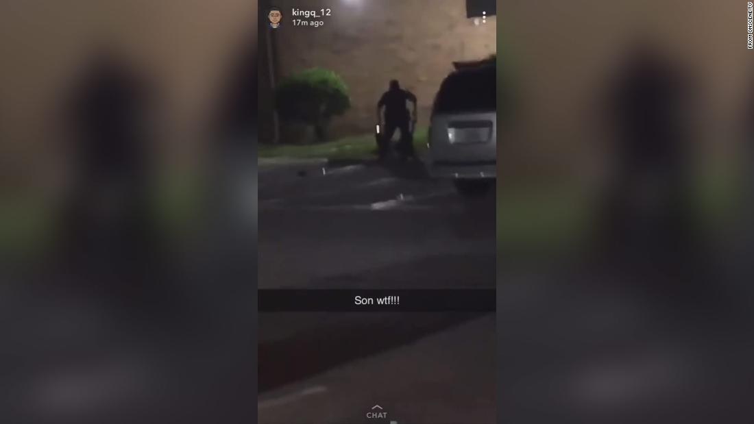 Texas police officer shoots woman who said she was pregnant