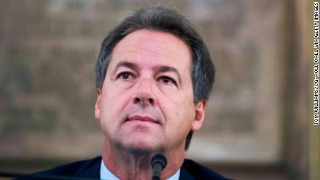 UNITED STATES - AUGUST 20: Montana Gov. Steve Bullock (D) attends a meeting of the Board of Land Commissioners in the State Capitol building in Helena on August 20, 2018. (Photo By Tom Williams/CQ Roll Call)