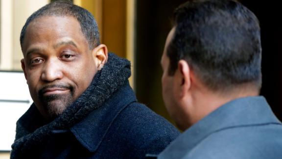 Harvard law professor Ronald Sullivan Jr. arrives at New York Supreme Court in January.
