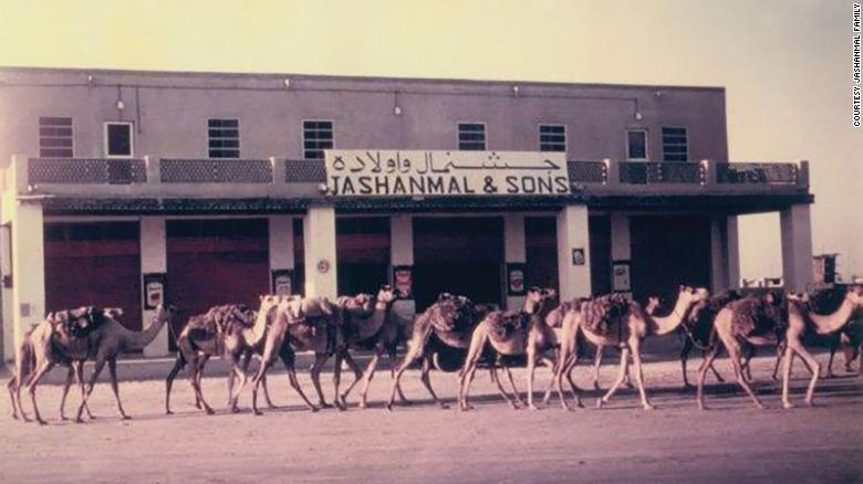 One of the first Jashanmal stores in the UAE.