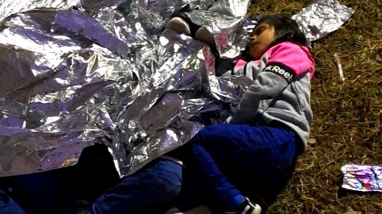 Image result for photos of migrant children at border