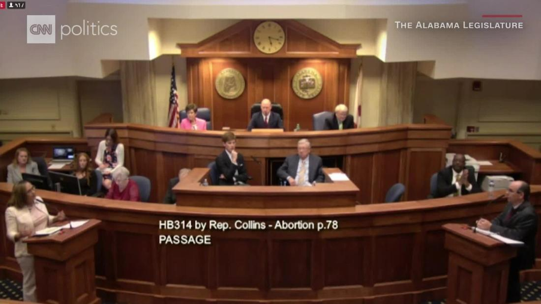 Alabama Senate passes near-total abortion ban