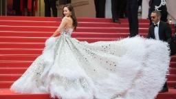 The best celebrity red carpet fashion at Cannes