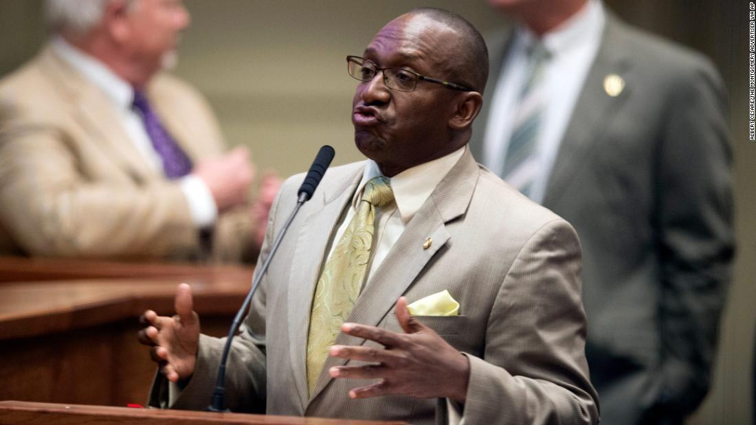 Alabama state Democrat says near-total abortion bill passage 'raped women last night'