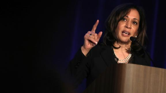 Democratic presidential hopeful U.S. Sen. Kamala Harris (D-CA) speaks during the San Francisco Black Newspaper's Anniversary Celebration on May 09, 2019 in San Francisco, California.  (Justin Sullivan/Getty Images)