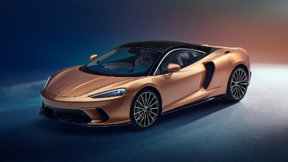 The McLaren GT is longer and roomier than McLaren's other cars.