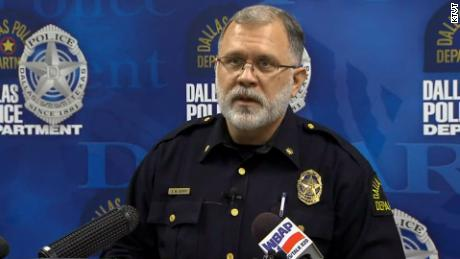 Dallas police Maj. Max Geron says Wednesday's raids are related to five new sex abuse allegations.