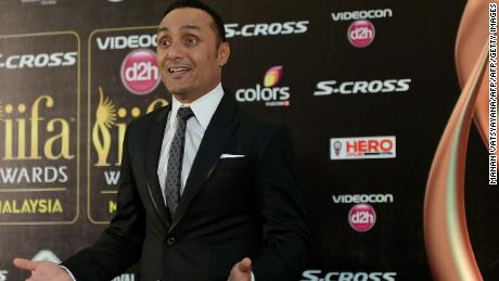 Bollywood actor Rahul Bose poses on the green carpet as he arrives to attend the final day of the 16th International Indian Film Academy (IIFA) Awards at the Putra Stadium in Kuala Lumpur on June 7, 2015.   AFP PHOTO / MANAN VATSYAYANA        (Photo credit should read MANAN VATSYAYANA/AFP/Getty Images)