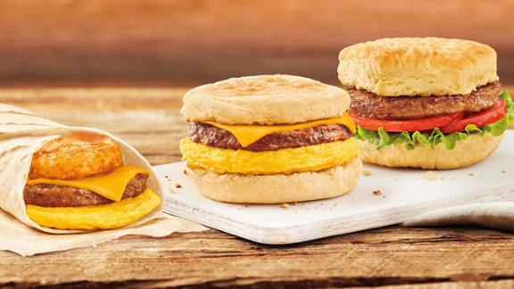 Tim Hortons is testing three plant-based breakfast sandwich options. (CNW Group/Tim Hortons)