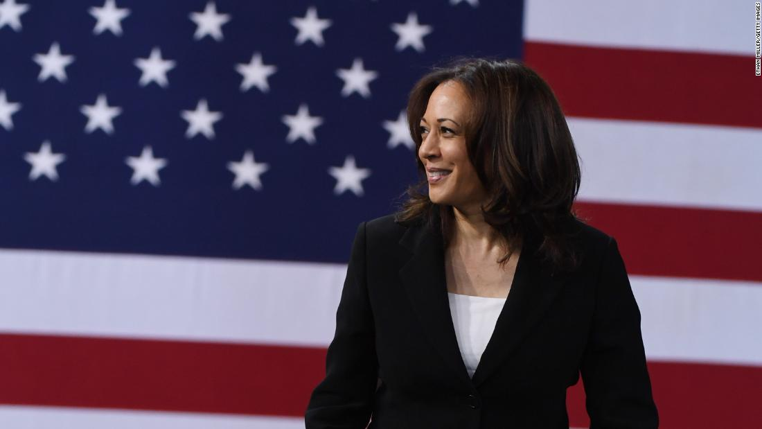Kamala Harris Trump Is A Clear And Present Threat To Democracy Cnnpolitics