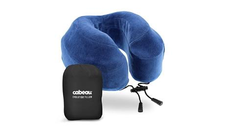 Cabeau Evolution Pillow.Best Travel Pillows Five Of The Most Innovative Options Cnn