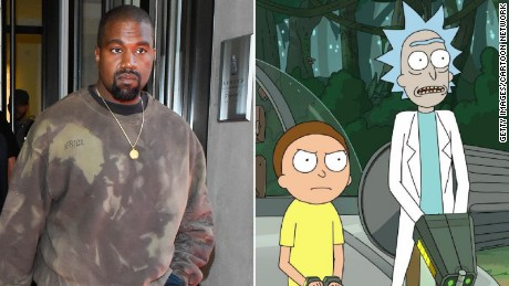 Rick & Morty' creators offer Kanye West his own episode - CNN