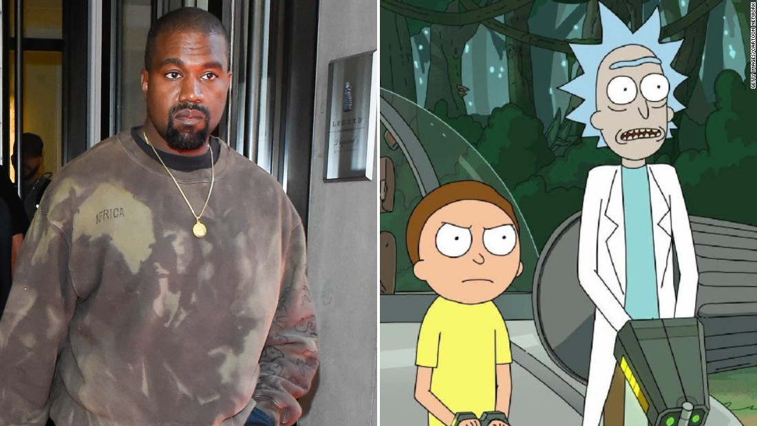 'Rick & Morty' creators offer Kanye West his own episode