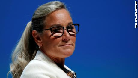 Angela Ahrendts, former senior vice president of Apple