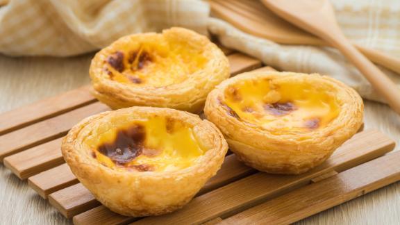Portugal: Pasteis de nata, or egg custard tarts, are a popular part of mornings.