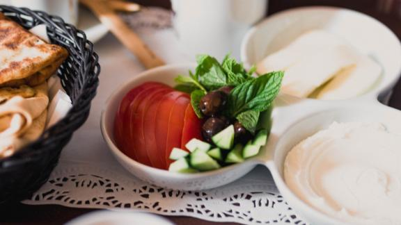 Turkey: The traditional Turkish breakfast spread is a lavish affair that has a little something for everyone.