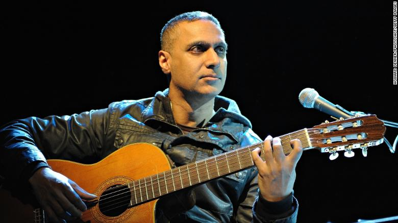Nitin Sawhney performs live at the Shepherds Bush Empire in London on 26th February 2009.
