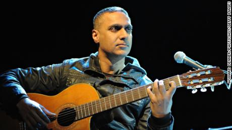 Nitin Sawhney performing live at Shepherds Bush Empire in London. 26th February 2009. Job: 62592 Ref: HDR -  (Photo by Howard Denner/Photoshot/Getty Images)