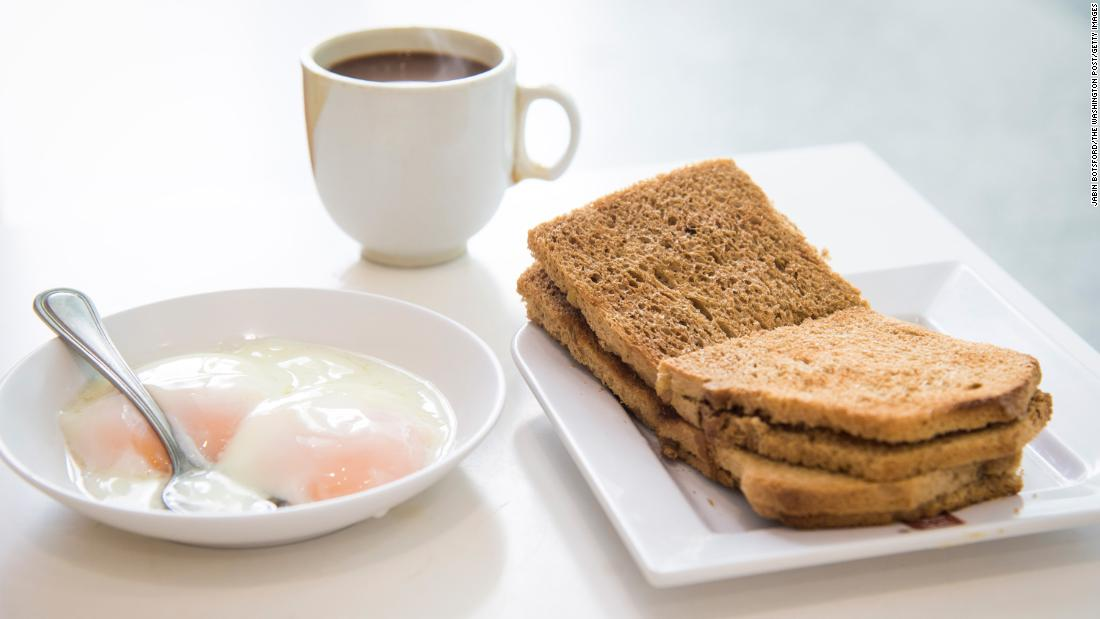 <strong>Singapore: </strong>Kaya toast is an unassuming-looking toasted sandwich spread with flavorful kaya, a sweet jam made with coconut milk, eggs and sometimes pandan leaf for vibrant green color and flavor.