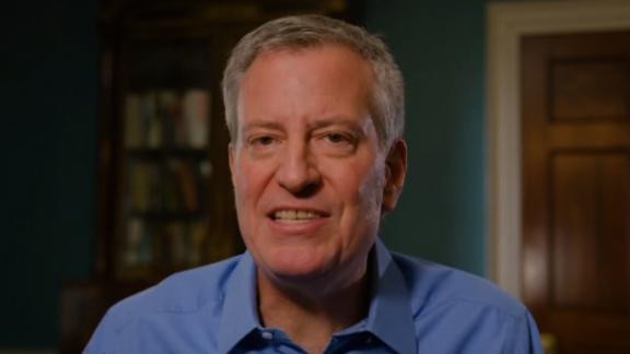 Image for New York City Mayor Bill de Blasio announces 2020 presidential run