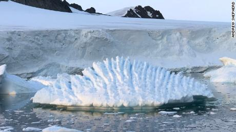The study uses 25 years of satellite data to measure the extent of ice thinning.