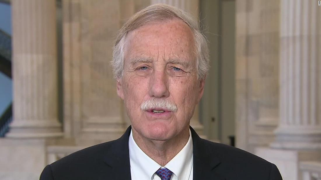 Sen. King on Iran: Who's provoking whom?