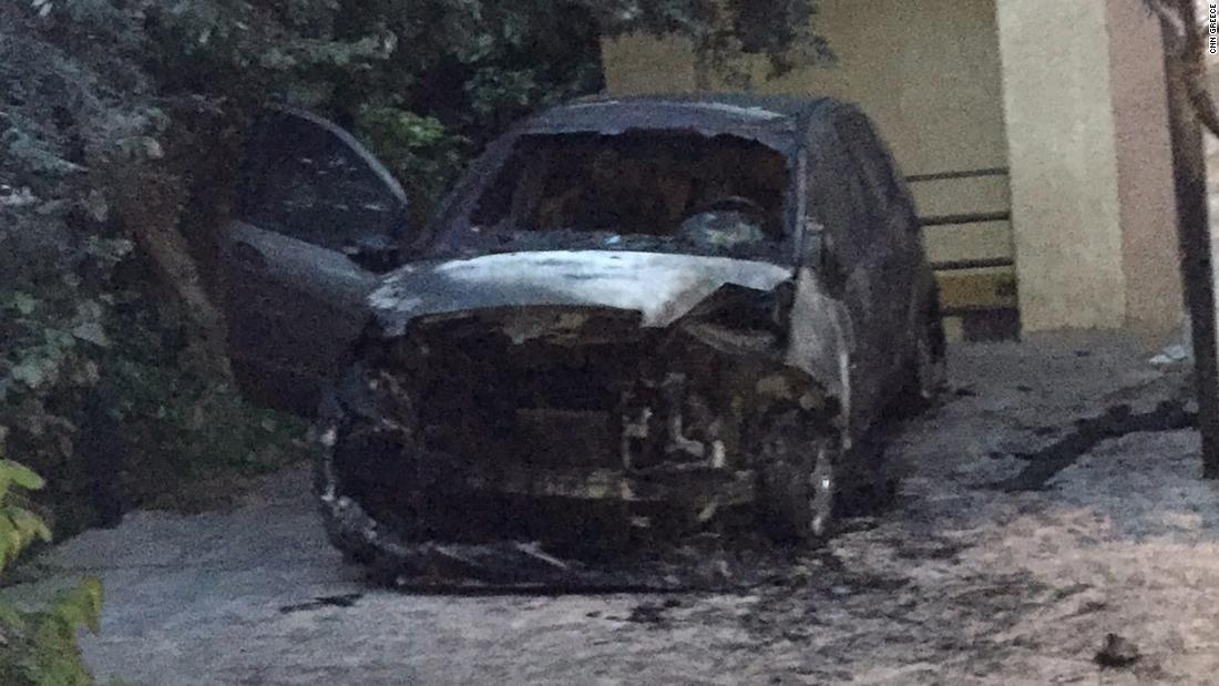 Greek journalist's car targeted in reported bomb attack