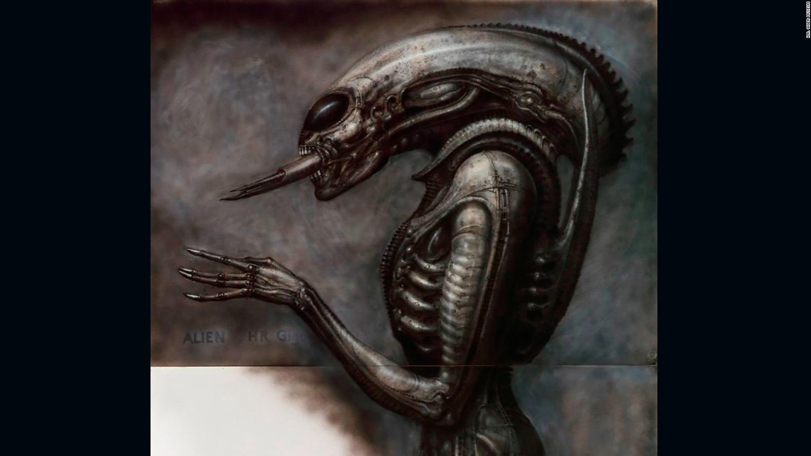 H R Giger The Nightmarish Works Of The Artist Behind