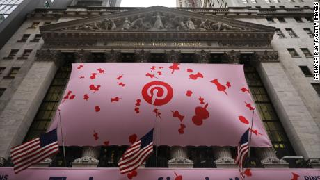 Pinterest stock falls 15% after first earnings report reveals bigger loss than expected
