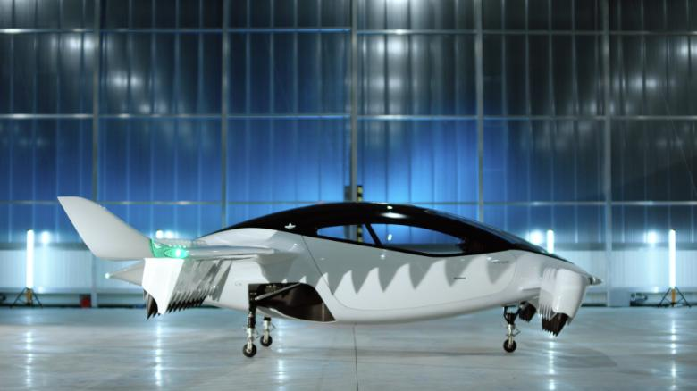 German start-up unveils flying taxi prototype