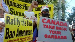 Philippines recalls ambassador to Canada over trash row