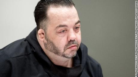 Niels Hoegel, a former nurse who has admitted to the killing of 100 patients, is seen in court in Oldenburg, Germany, in March.