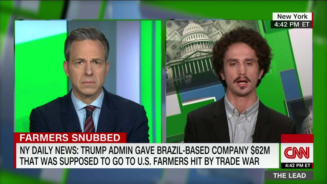 NYDN: did Trump admin give cash for struggling American farmers to crooked Brazilians?