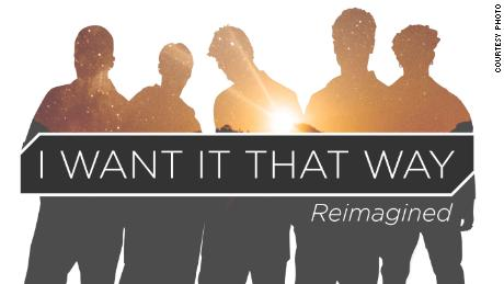 """The Backstreet Boys have released a new version of """"I Want It That Way"""" to celebrate the 20th anniversary of the album from which it came."""