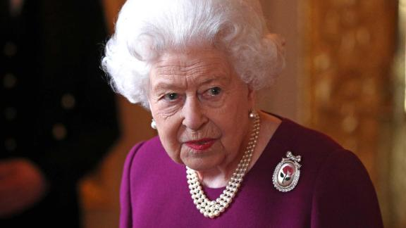 WINDSOR, ENGLAND - MAY 7: Queen Elizabeth II arrives to join members of the Order of Merit ahead of a luncheon at Windsor Castle on May 7, 2019 in Windosr, England. Established in 1902 by King Edward VII, The Order of Merit recognises distinguished service in the armed forces, science, art, literature, or for the promotion of culture. Admission into the order remains the personal gift of The Queen and is restricted to a maximum of 24 living recipients from the Commonwealth realms, plus a limited number of honorary members. (Photo by Jonathan Brady - WPA Pool/Getty Images)
