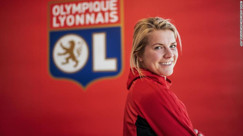 ผลการค้นหารูปภาพสำหรับ Ada Hegerberg: Why 'shaking things up' is more important than playing at Women's World Cup