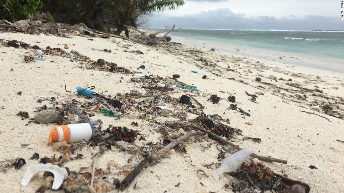 414 million pieces of plastic found on remote Australian islands: Study - CNN thumbnail