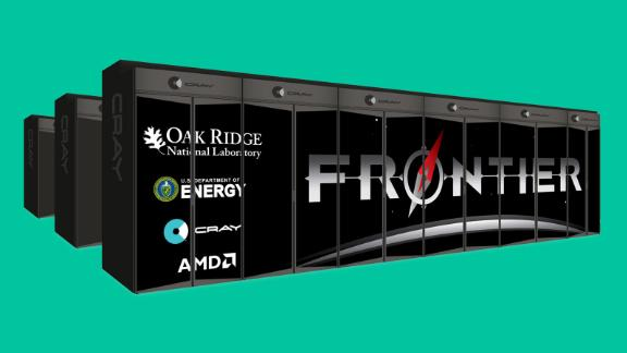 Cray's 'Frontier' supercomputer