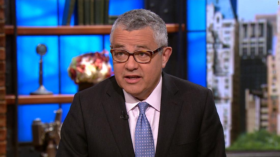 Toobin on Trump tweet: Reckless, grotesque abuse of power