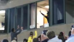 Man makes unreal baseball catch during game