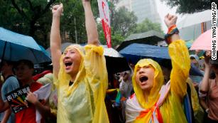 Taiwan legalizes same-sex marriage in historic first for Asia