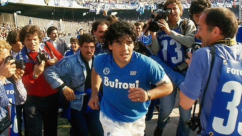 ผลการค้นหารูปภาพสำหรับ Sex, drugs and soccer: Diego Maradona film shines light on Napoli years