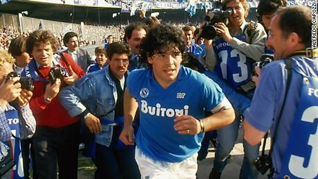 Soccer legend Maradona opens up in new documentary