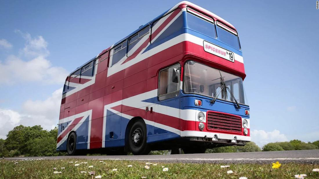 Spice Girls bus from 'Spice World' listed on Airbnb