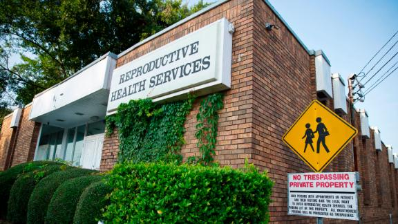 In this Wednesday, July 30, 2014 photo, Reproductive Health Services is shown, in Montgomery, Ala. Reproductive Health Services is the only abortion clinic in Montgomery and an Alabama law restricting doctors at abortion clinics was ruled unconstitutional because it would unduly hamper women