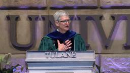Tim Cook to grads: My generation failed you
